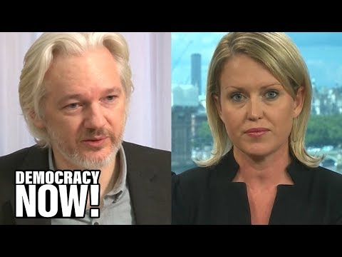 """Exclusive: Julian Assange's Attorney Decries Espionage Charges as """"Grave Threat to Press Freedom"""""""