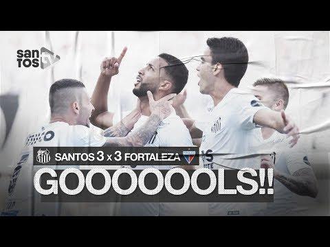SANTOS 3 X 3 FORTALEZA | GOLS | BRASILEIRÃO (25/08/19)