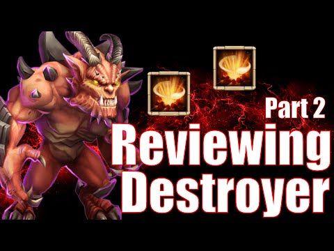 Castle Clash Destroyer 9/9 Gameplay And Review Part 2!
