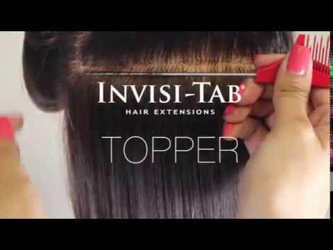 Invisi toppers by invisi tab tape in hair extensions youtube invisi toppers by invisi tab tape in hair extensions pmusecretfo Choice Image