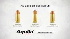 Aguila Ammo Centerfire .45 Auto and ACP Series