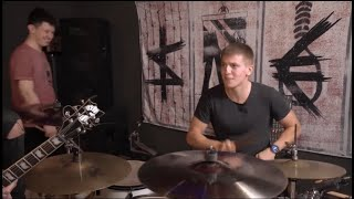 Щербаков на барабанах