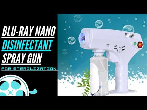 Atomizer Nano Disinfectant Spray Gun For  Sterilizing Walk-in Customer,Office Staff  & Surfaces
