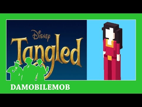 ★ DISNEY CROSSY ROAD Secret Characters   MOTHER GOTHEL Unlock (TANGLED) (iOS, Android Gameplay)