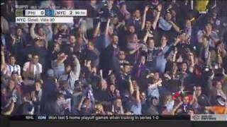 David Villa ghi bàn siêu dị từ hơn 50m ở MLS