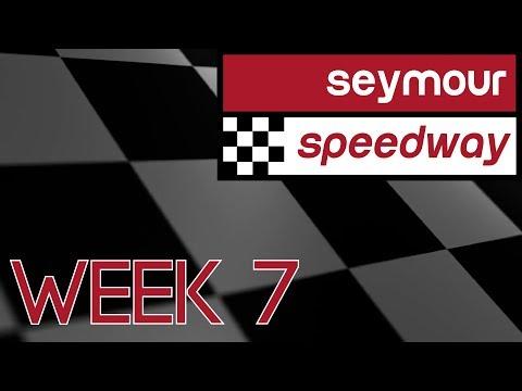 Seymour Speedway Week 7 2017