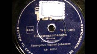 Gaagængermanden af Poul Henningsen PH Danmark 1940