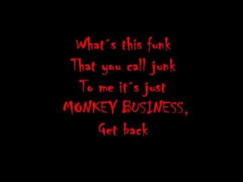 Skid Row - Monkey Business (Lyrics)