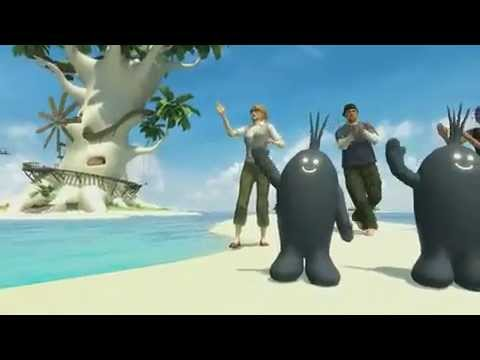 Playstation Home Loco Roco Private Space Trailer