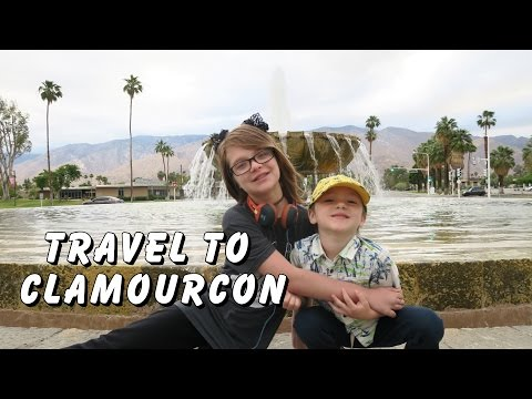 WE MADE IT TO CLAMOURCON 2017 in PALM SPRINGS!  Day 1425 | ActOutGames