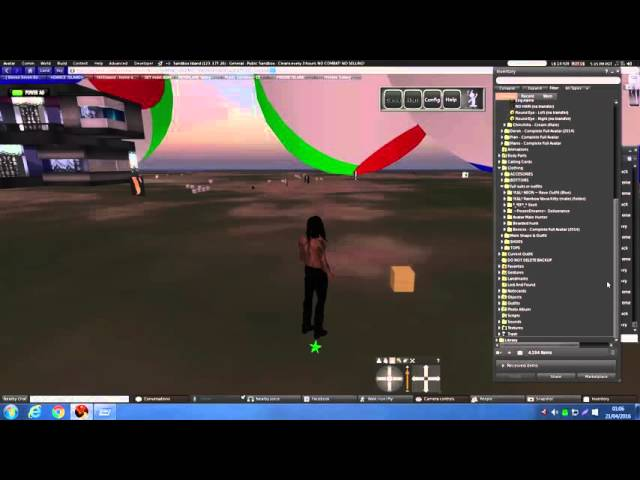 How to manage your inventory in Second Life (Firestorm) - Neat Trick