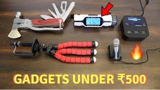 Unique Gadgets Under Rs500   Part 6   Tech Unboxing 🔥