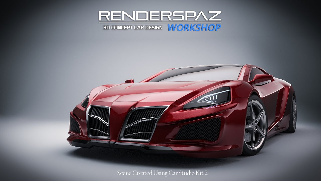 3D Concept Car Design Workshop Coming Soon! - YouTube