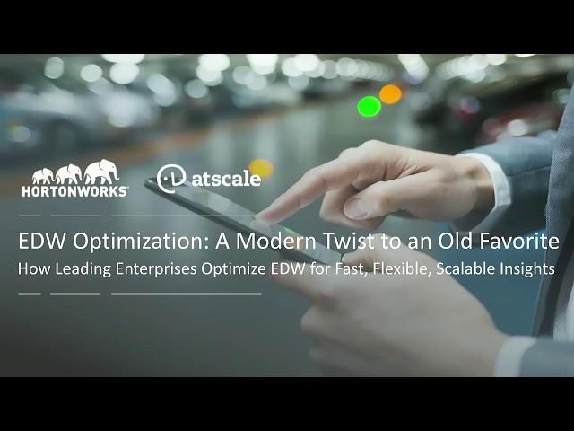 EDW Optimization: A Modern Twist on an Old Favorite