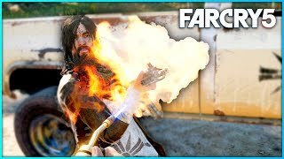 FAR CRY 5 FREE ROAM - NEW MELEE WEAPONS | Far Cry 5 Free Roam Gameplay