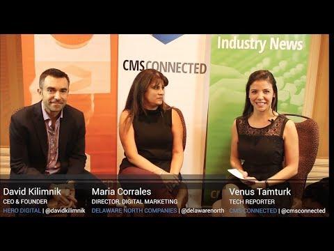 Interview with Maria Corrales of Delaware North Companies and David Kilimnik of Hero Digital