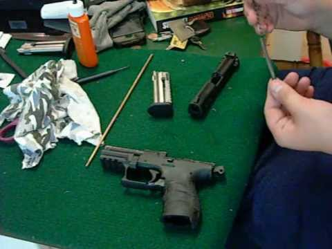 Walther P22 Disassembly