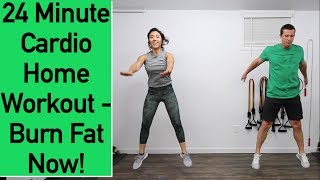 Cardio Home Workout - 24 Minute Cardio Workout for Men and Women