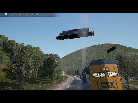 Train Sim World - Breaking Physics