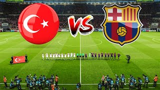 PES 2021 Turkey vs Barcelona Full Match All goals HD efootball 2021 gameplay PC