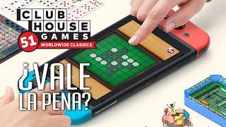Clubhouse Games: 51 Worldwide Classics ¿Vale la pena?