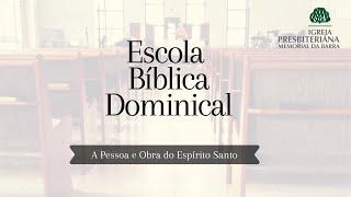 Escola Bíblica Dominical - A certeza da salvação I Rev. Ricardo Rios