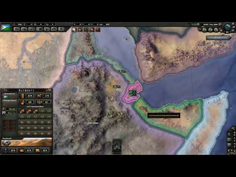Hearts of Djibouti #1 (Hearts of Iron 4 Mod) - Rise of Djibouti