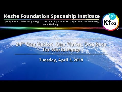 34th One Nation One Planet One Race for World Peace April 3 2018