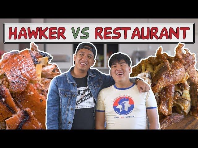 FILIPINO CUISINE   HAWKER VS RESTAURANT   EP8