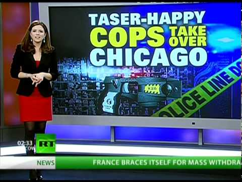 Chicago Police Love Tasers