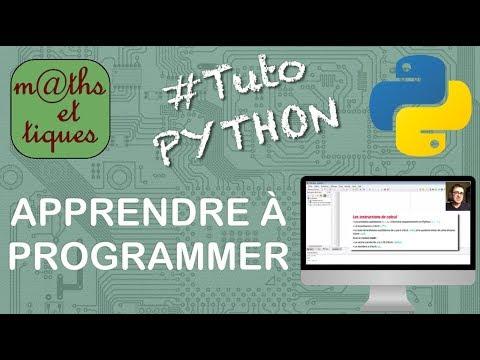 Download Apprendre les bases de la programmation - Tutoriel Python #1/7