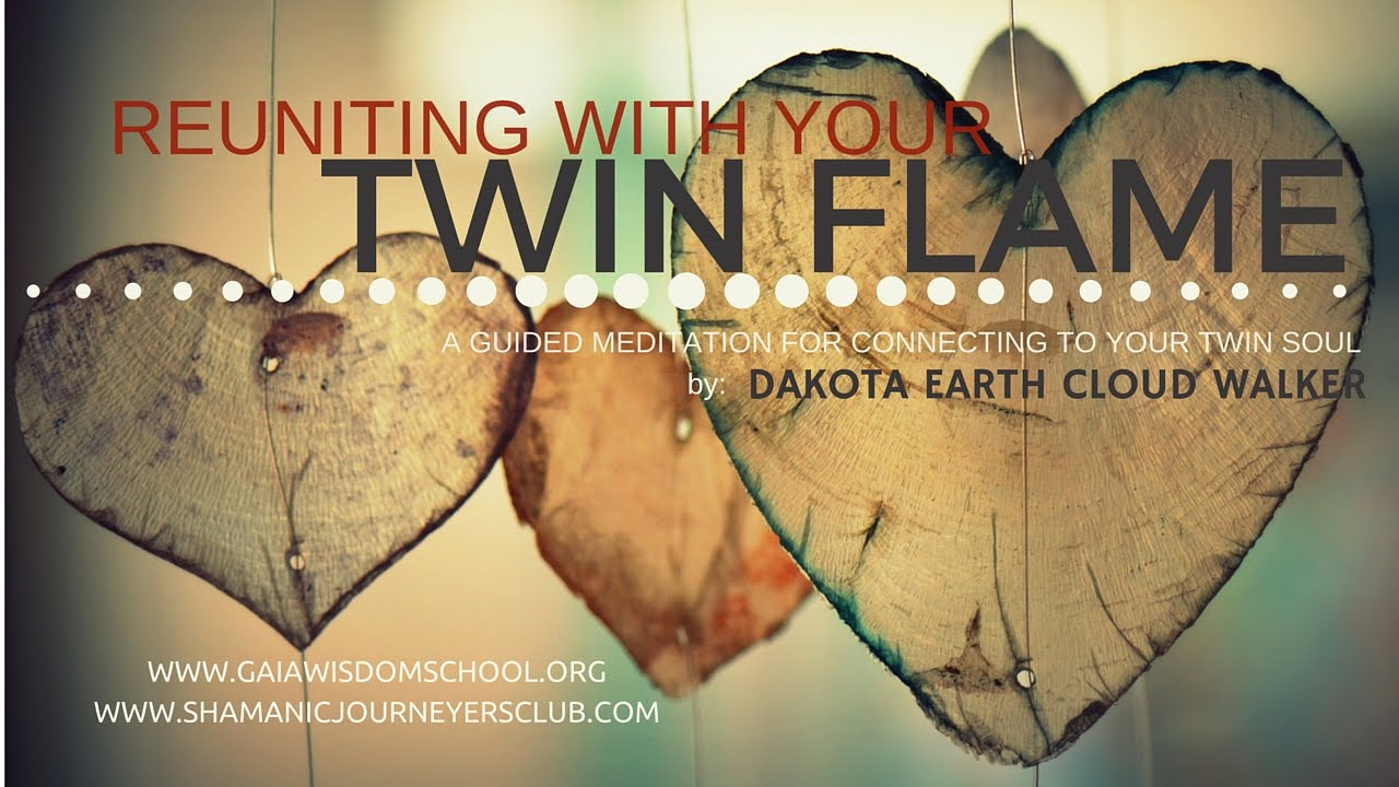 Reuniting With Your Twin Flame - [Guided Shamanic Meditation] - [SEE LINK  BELOW FOR NO ADS VERSION]