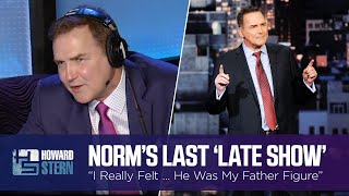 """Why Norm Macdonald Got Emotional on His Last """"Late Show"""" Appearance (2016)"""