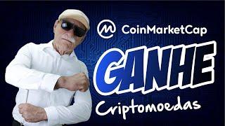 BITCOIN - GANHE CRIPTOMOEDAS COMO O EARN DO COIN MARKET CAP