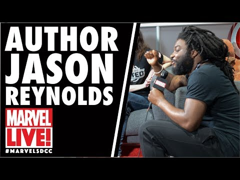 Author Jason Reynolds Drops by Marvel LIVE! at San Diego Comic-Con 2017