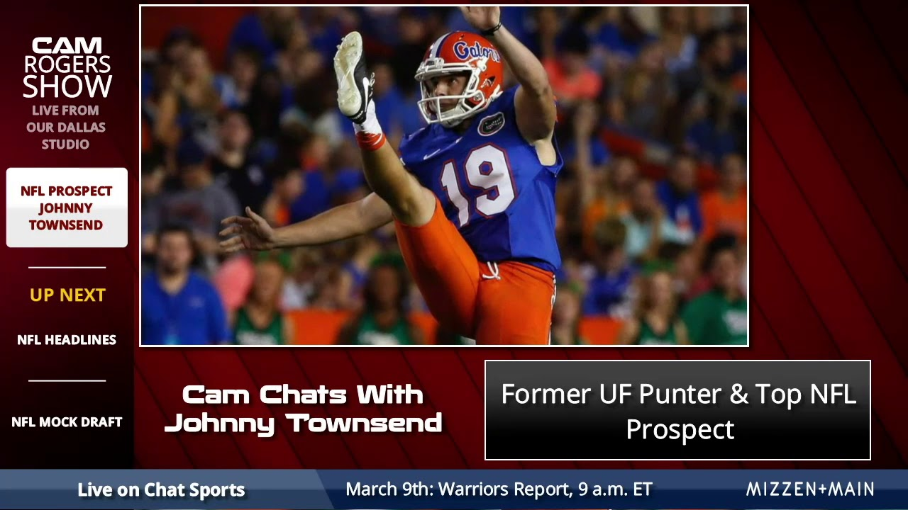 quality design 48acc 3c1b2 Florida Punter Johnny Townsend Joins Cam Rogers To Discuss NFL Draft,  Florida Football, & Foundation