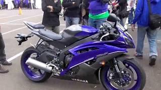 Test Ride Yamaha R6 (600cc)