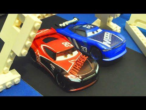 Disney Cars 3 : Ed Truncan Vs Tim Treadless Street Race! - StopMotion