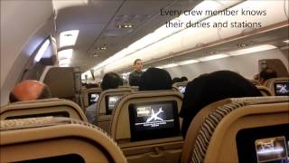 Etihad Airways A321-200 Abu Dhabi Departure 31R