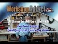Ultimate Miter Saw Station Part 1 - Ideal for small shops