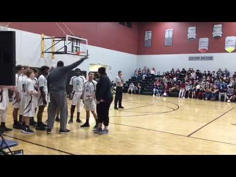 DHPA varsity boys basketball vs Basis Phoenix Jan. 18,2019