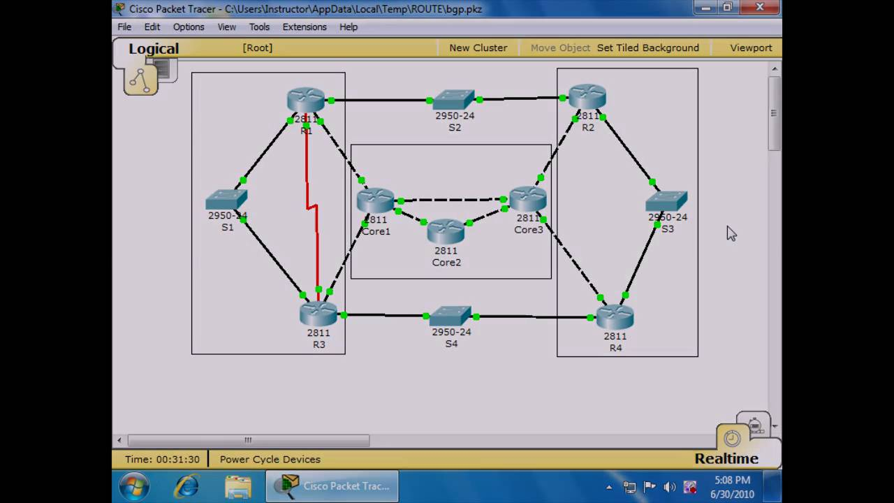 ccnp route cisco certified network professional cisco authorized training:  ibgp and ebgp