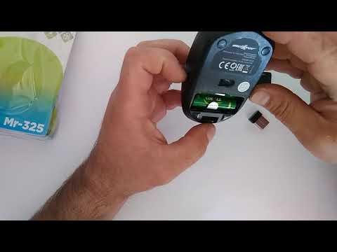 Мышь Maxxter Mr-325-G Wireless Green