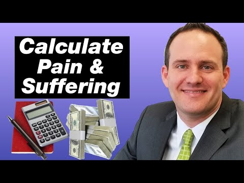 How To Calculate A Pain And Suffering Settlement (With Examples)