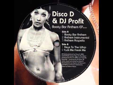 Disco D & DJ Profit - Booty Bar Anthem