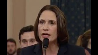 Republicans' OWN lawyer leads Fiona Hill into testimony sinking Trump