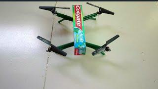 How to make a colgate box drone | diy colgate box drone