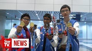 Malaysians students emerge champion at International Robot Contest 2019