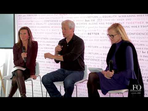 The Equality Lounge @ Davos 2018:  A Conversation with Jamie Dimon