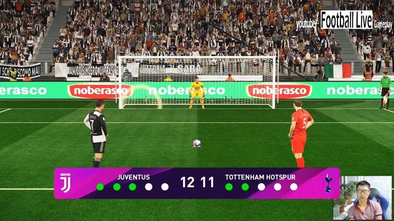 Juventus Vs Tottenham Penalty Shootout